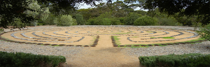 Chartres Style Labyrinth at Urrbrae House